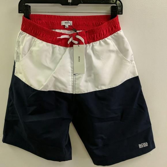 66c5cd65 Hugo Boss Swim   Boys Shorts   Poshmark